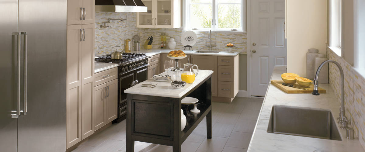 Omega Ivory White Modern Country Kitchen Cabinets